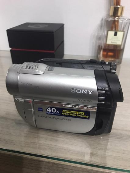 Filmadora Sony Handycam Dcr-dvd 610 Com Acessórios