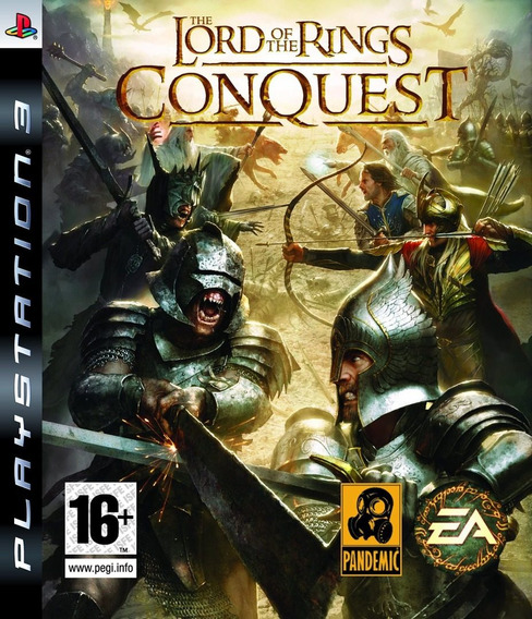 Jogo The Lord Of The Rings Conquest Ps3 Playstation 3 Lotr