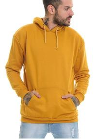 Blusa Premium Moletom Moleton Preto Frio Masculina Offert