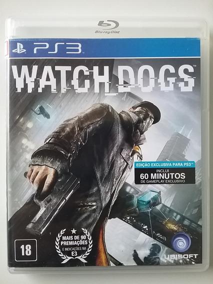 Watch Dogs Ps3 Mídia Física Original Dublado Br Perfeito