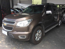 Chevrolet S10 2.4 Ltz Cab. Dupla 4x2 Flex 4p 2013 Marron Rev
