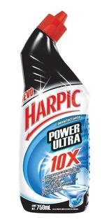 Limpiador Para Inodoro Harpic Power Ultra Original 750 Ml