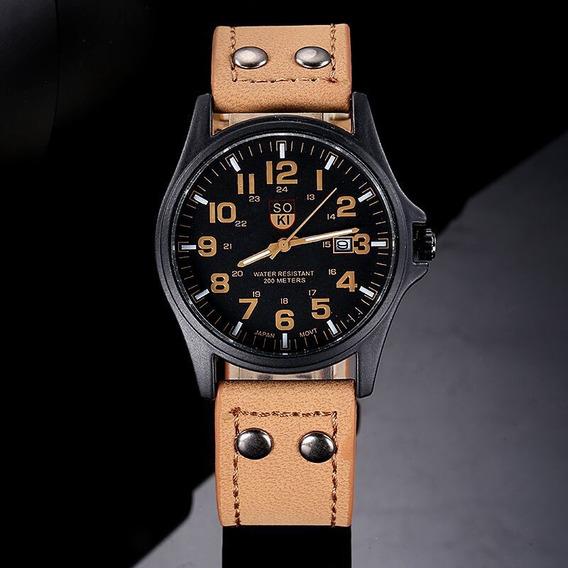 Reloj De Cuarzo A La Moda Para Hombre