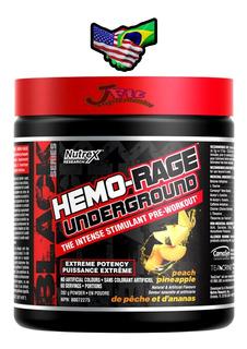 Hemo-rage Nutrex Underground 40 Doses U S A Garantia