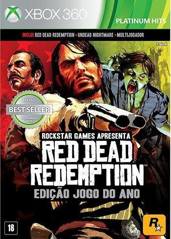 Red Dead Redemption Original Semi-novo Xbox 360