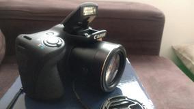 Canon Powershot Sx400is Preta 16.0mp, Lcd 3.0, Zoom Óptic