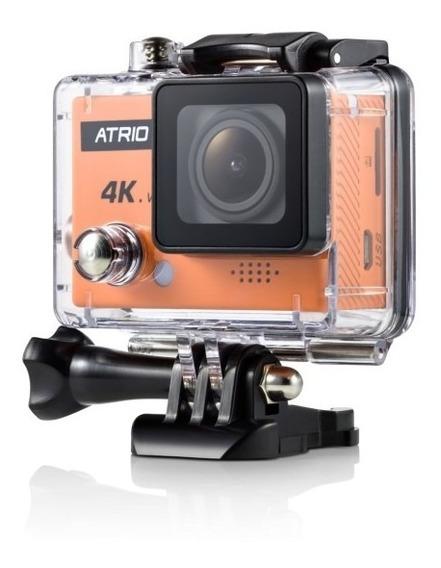 Câmera Esportiva Atrio Fullsport 4k 16mp Wifi Controle Remoto Dc185