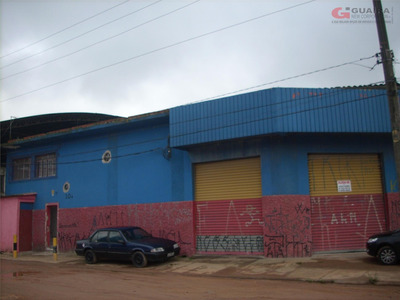Galpão Comercial Para Locação, Capuava, Mauá. - Ga1194