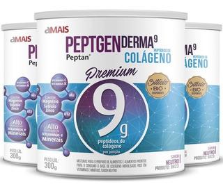 Kit 3 Colágeno Hidrolisado Premium Peptan 9g Chá Mais - 300g