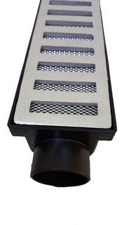 Kit 10,5 Metros Grelha 6x50 Caixa Coletora Linear Com Tela