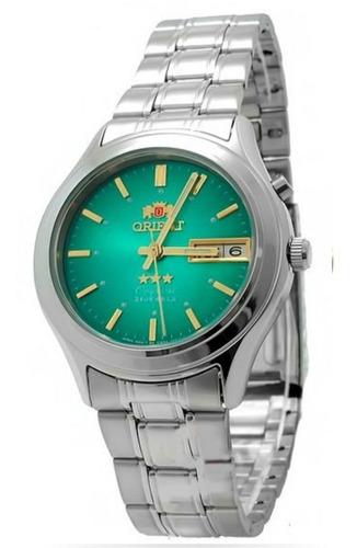 Reloj Automático Orient Plateado 100%  Tecnología Japoneza