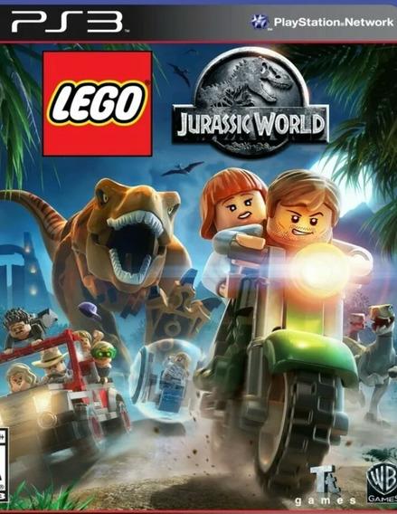 Lego Jurassic World Ps3 Play3 Português Brasil Jogo Comprar