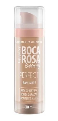 Imagem 1 de 4 de Base Mate Boca Rosa Beauty Perfect Cor 2 Ana 30ml Payot