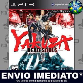 Yakuza Dead Souls Ps3 Midia Digital Psn Envio Imediato