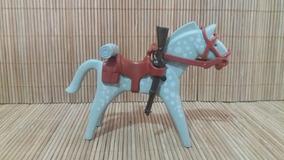 Lote 5118 - Cavalo Cinza E Branco - Montarias Do Velho Oeste