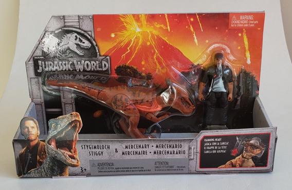 Jurassic World Mercenário E Stygimoloch Stiggy Dinossauro
