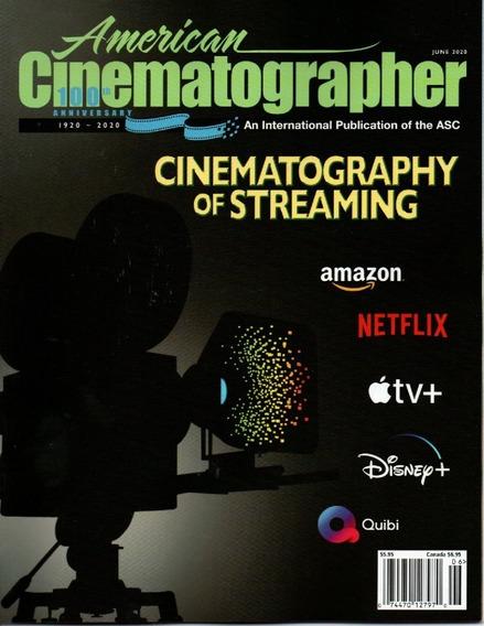American Cinematographer-revista Sobre Tudo Atras Das Lentes