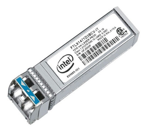 Gbic Intel E10gsfplr 10gbps Sfp+ Lr 1310nm 10km X520 Da2 Da1