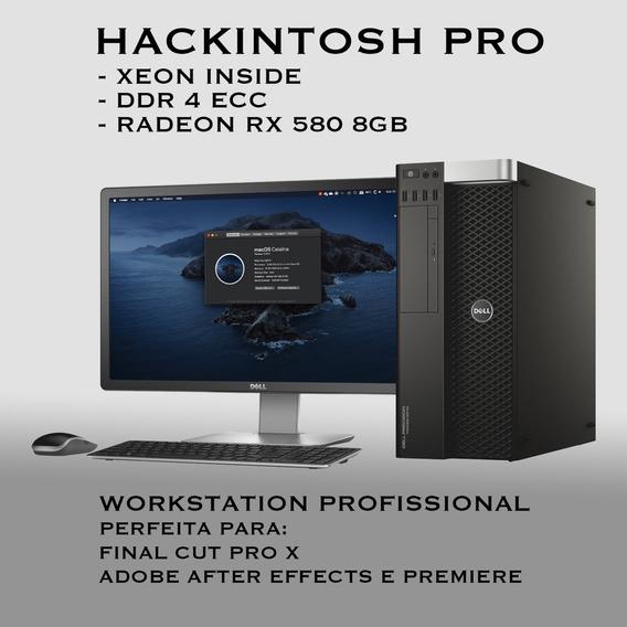 Hackintosh 8 Core 16 Threads 16gb Ram, Frete Grátis