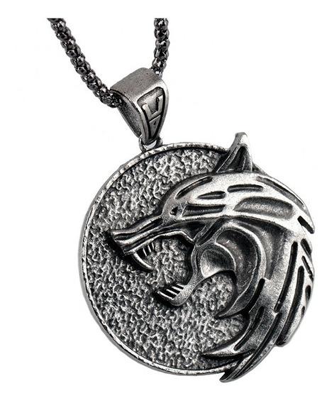 Medalhão The Witcher - Envio Imediato