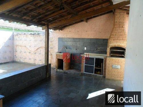 Imagem 1 de 15 de Casa  Residencial À Venda, Parque Jaguaré, São José Do Rio Preto. - Ca0517