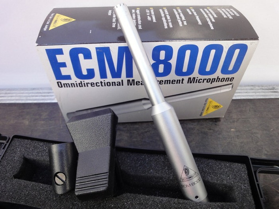 Microfone Condensador De Medição Acústica Behringer Ecm8000