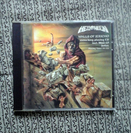 Helloween - Walls Of Jericho + Mini Ep - Cd Made In Usa