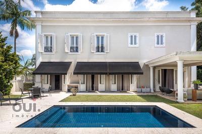 Casa Com 4 Dormitórios À Venda, 545 M² Por R$ 8.500.000 - Jardim Guedala - São Paulo/sp - Ca0335