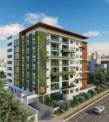 Apartamento Com 2 Quartos À Venda, 72 M² Por R$ 625.600 - Mercês - Curitiba/pr - Ap3040