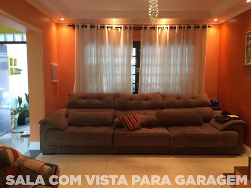 Imagem 1 de 14 de Vendo Sobrado Três Dormitórios Próximo Metro Capão