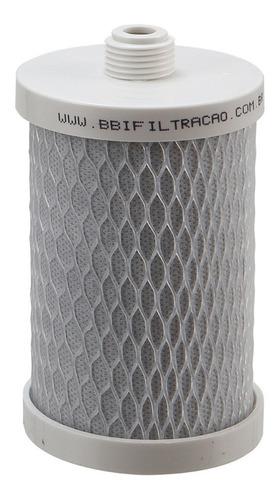 Refil Filtro 5 Carbon Block Rosca Bbi R125 Igatu 446 568 Carvão Ativado Rosqueável