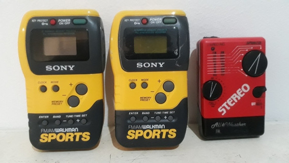Radio Walkman Sony Sports Am /fm Leia !