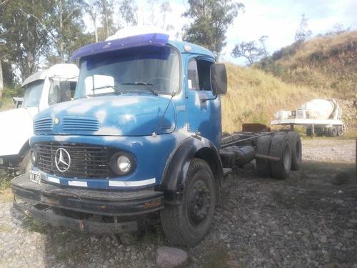 Camion Mercedes Benz 1114 Balancín Eje Neumático