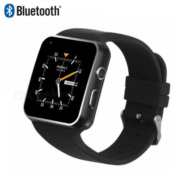 Smart Whatch Relogio Digital Conexão Celular Android Bluetoo