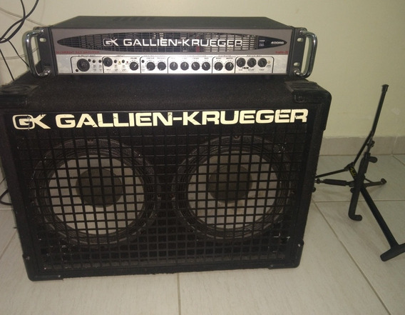 Cabeçote Gallien Krueger Rb400 Iv