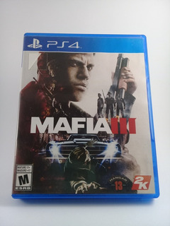 Juego Ps4 Mafia 3 Fisico! Impecable!!