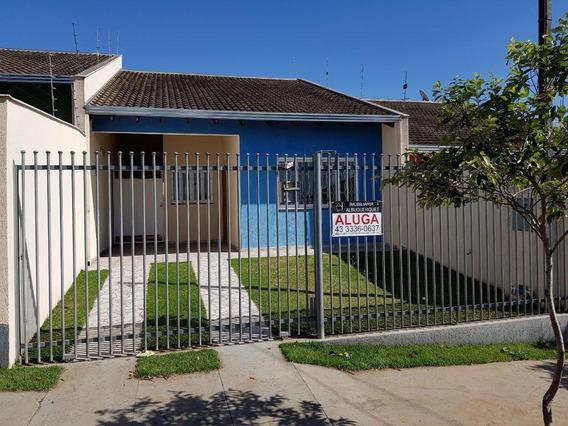 Casa Com 3 Dormitórios Para Alugar Por R$ 900/mês - Jardim Moema - Londrina/pr - Ca0439