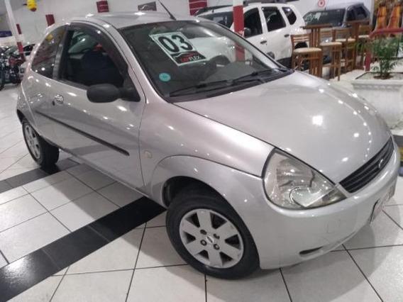 Ford Ka Gl 1.0i Zetec Rocam Prata 2003