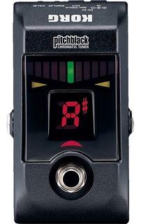 Pedal Afinador Cromático Korg Pb-01 Pitchblack De Escenario