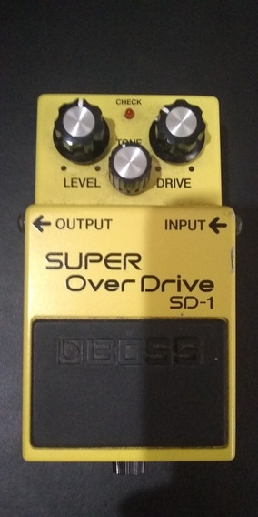 Pedal Boss Super Overdrive Sd-1