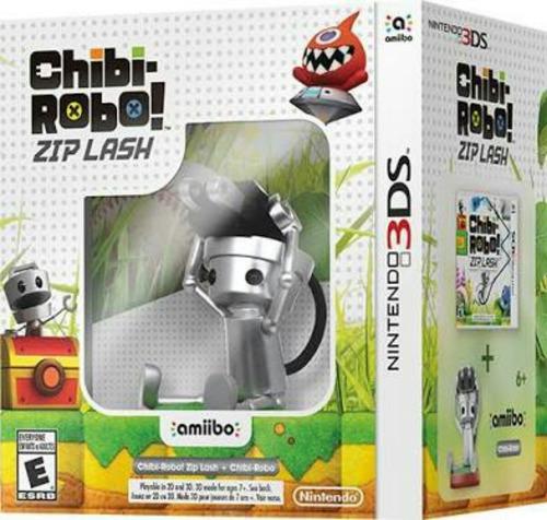 Chibi Robo ! Zip Lash Con Amiibo Nuevo Nintendo 3ds Dakmor