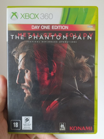Metal Gears Solid V 5 The Phantom Pain Original Xbox 360