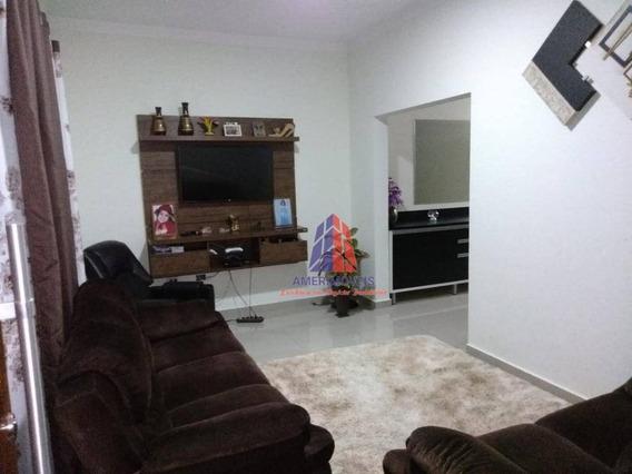 Casa Com 2 Dormitórios À Venda, 176 M² - Terra Azul - Santa Bárbara D