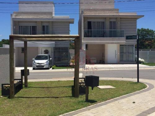 Sobrado Com 3 Dormitórios À Venda, 145 M² Por R$ 615.000,00 - Neoville - Curitiba/pr - So0170