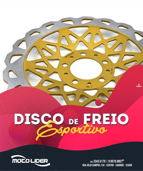 ·marca: ScudDisco De Freio Dianteiro Dourado Honda Cg150 T
