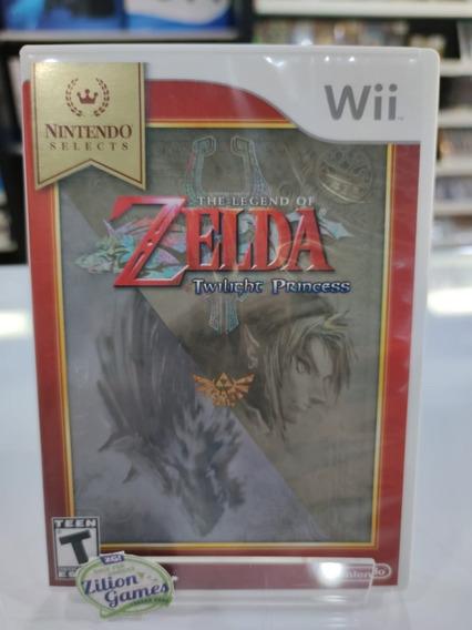 Zelda Twilight Princess Nintendo Wii Completo