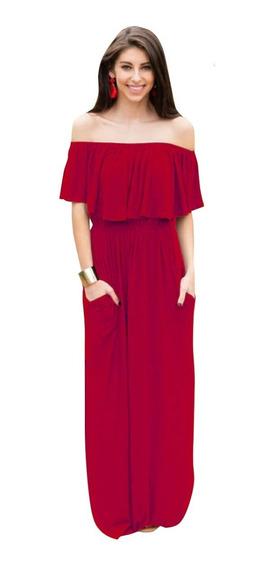 Vestido Largo Casual Dama Per