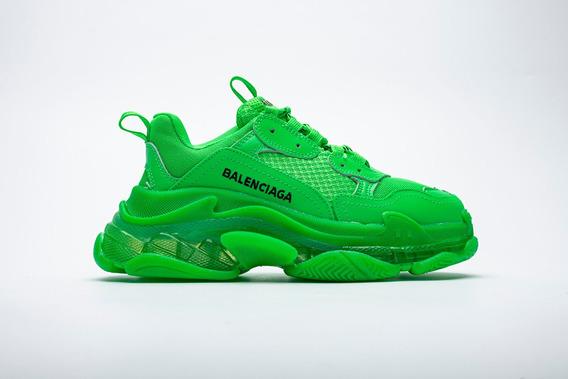 Zapatillas Balenciaga Triple S Verde