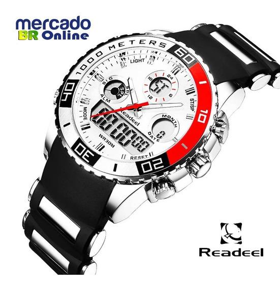 Relógios Masculino De Borracha Tipo Sport