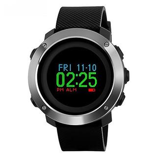 Reloj Digital Deportivo Para Hombre Podometro Militar U S A